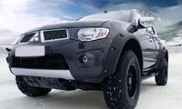Фендера - расширители колесных арок Mitsubishi L200 2008-2012 (LLDPE)