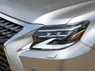 Рестайлинг комплект GX460 2009 в стиль 2020 (фары стиль 2020 + красные стопы + обвес)