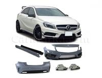 Обвес комплект Mercedes A-Class W176 A45 (стиль A45 AMG)