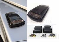 Поворотники type-2 диодные Mercedes G-class W463 (дымчатые) темные