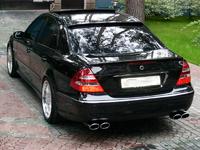 Козырек на заднее стекло Mercedes E-class W211
