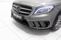 Накладка переднего бампера Brabus для Mercedes GLA X156