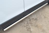 Пороги труба Chevrolet NIVA Bertone (d63) #3