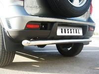 Защита заднего бампера дуга Chevrolet NIVA Bertone (d63)