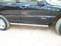 Пороги труба Chevrolet Niva (d76)