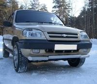 Защита переднего бампера дуга Chevrolet Niva (d63) #2
