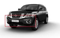 Передний бампер Nissan Patrol Y62 2014-2017 (рестайлинг)