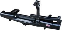 Задний силовой бампер РИФ для NP300 кузов 1385мм с фаркопом и калиткой
