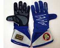 Перчатки спортивные омологированные Beltenick синие размер S