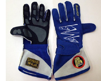 Перчатки спортивные омологированные Beltenick синие размер XXL