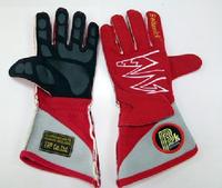 Перчатки спортивные омологированные Beltenick красные размер M