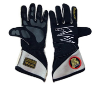Перчатки спортивные омологированные Beltenick черные размер L