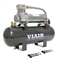 Ресивер 7,5 л в сборе с компрессором 480С 55% при 15 атм. 100% при 9 атм.