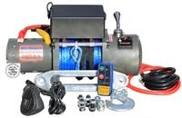Лебедка электрическая 12V / 24V Electric Winch 6000lbs (2722кг) кевлар