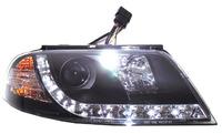 Фары (оптика) диодные Volkswagen Passat B5 2000-2005 линза (черные) SONAR