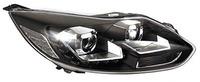 Фары (оптика) диодные Ford Focus III 2011+ (линза) черные