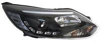 Фары (оптика) Ford Focus III 2011+ (линза) черные SONAR
