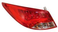 Стопы диодные Hyundai Solaris 2010-2014 красные