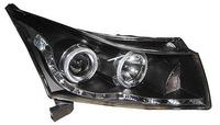 Фары (оптика) Chevrolet Cruze 2008+ (черные)