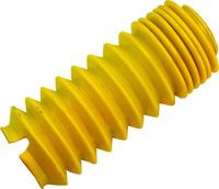 Пыльник ToughDog для амортизатора (желтый)