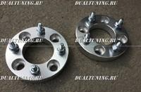 Проставки колесные для ATV 4*110 1.25 2.5см 25мм
