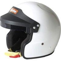 Шлем RaceQuip белый открытый размер L