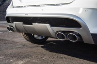 Раздвоенный глушитель Carlsson для Mercedes GLA X156