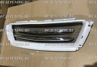 Решетка радиатора JAOS Land Cruiser Prado 150 2014 белая с лезвиями