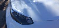 Реснички (накладки на фары) для Kia Sportage 4