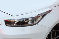 Накладки на фары - реснички «GT-Line» KIA Pro Ceed / SW / Hatchback (JD) 2012-2018