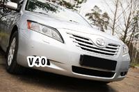 Накладки на фары (реснички) Toyota Camry V40 (дорестайлинг) 2006 - 2009
