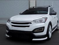 """Решетка радиатора """"RoadRuns"""" на Hyundai Santa Fe Dm"""