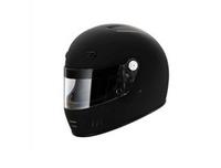 Шлем омологированный спортивный закрытый SF4 черный размер M