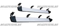 Металлические подножки Toyota Land Cruiser Prado 90/95