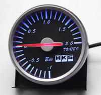 Датчик HKS 60ммт boost (давление турбины) черное табло