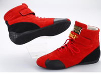 Ботинки спортивные омологированные красные Beltenick размер 41