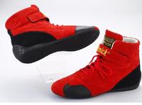 Ботинки спортивные омологированные красные Beltenick размер 38