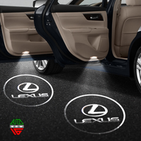 Подсветка в двери - логотип Lexus