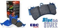 """Колодки тормозные """"EBC"""" Bluestuff для BMW3 E36 Z3"""