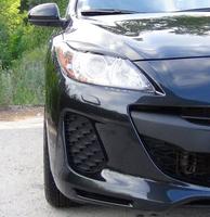 Накладки на фары (реснички) Mazda 3 2010-2013