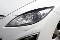 Накладки на фары (реснички) Mazda 6 2007-2010