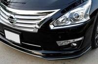 Реснички хром под фары Nissan Teana L33 2014+