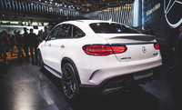 Спойлер AMG для Mercedes GLE Coupe