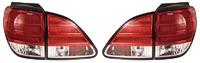 Стопы диодные Lexus RX300 / Toyota Harrier 1997-2003 красно-белые