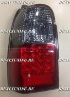 Стопы тюнинг диодные Toyota Hilux Surf 185 дымчатые