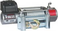 Электрическая лебёдка T-MAX EW 9500 Improved OFF-ROAD (12V)