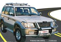Дуга метал - защита переднего бампера Toyota Land Cruiser Prado 90/95 #2