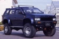 Фендера - расширители колесных арок Nissan Terrano D21 (9см)