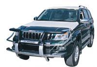 Дуга метал - защита переднего бампера Toyota Land Cruiser Prado 120