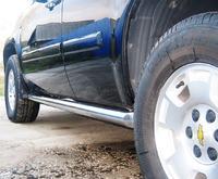 Пороги труба Chevrolet Tahoe (d76)